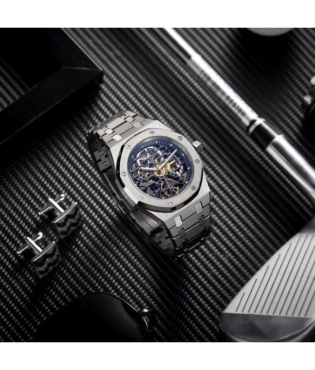 [New Arrival] FM019 Skeleton Luminous Automatic Watch (Limited Edition)