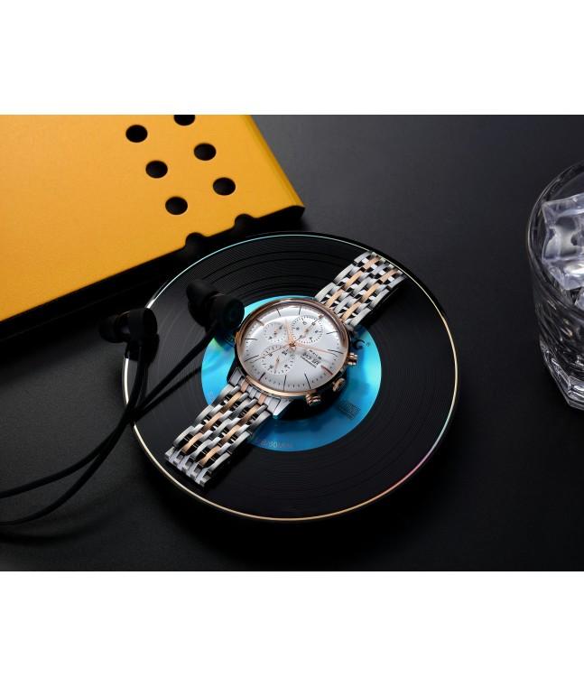 FM022 Multi Sub Dials Mechanical Dresswatch